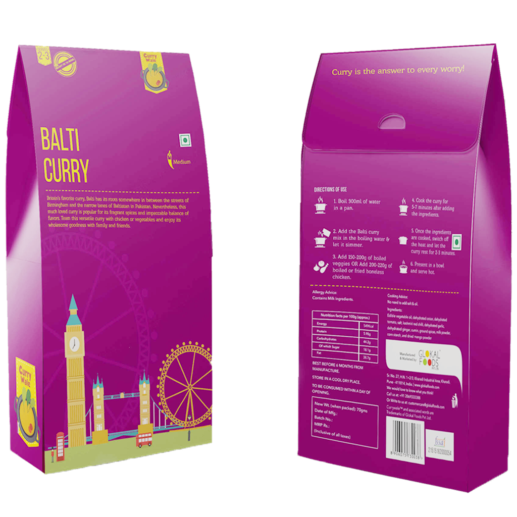 wizdumb-currywale-balti curry packet