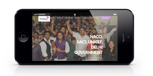 wizdumb-modicare website horizontal mobile