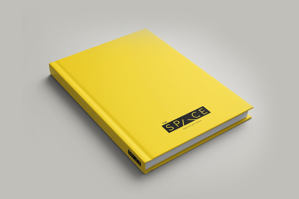 wizdumb-the space notebook mockup