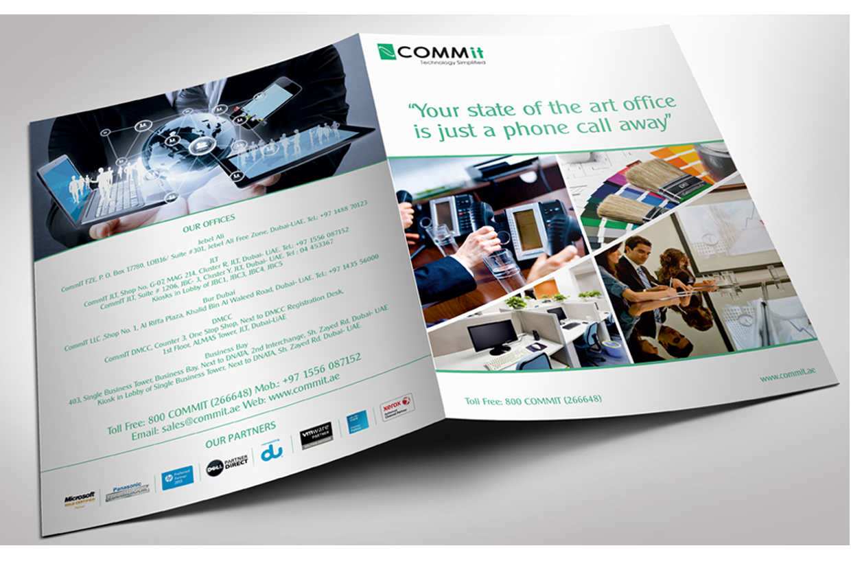 wizdumb-Comm It- Brochure Design